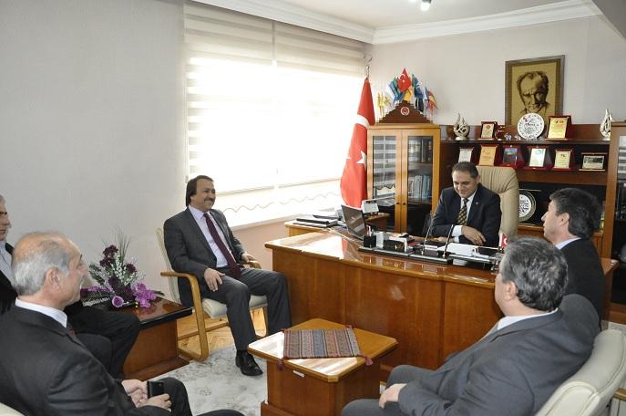 MHP Aday Adayından Başkan'a Ziyaret