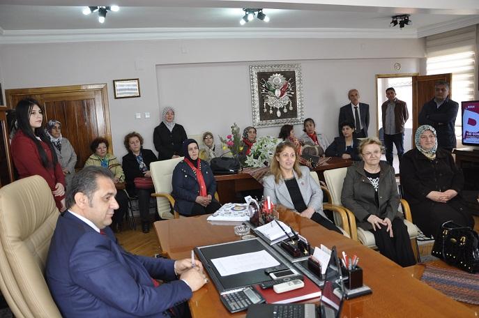 MHP Sivas Kadın Kollarından Çiftçi'ye Ziyaret
