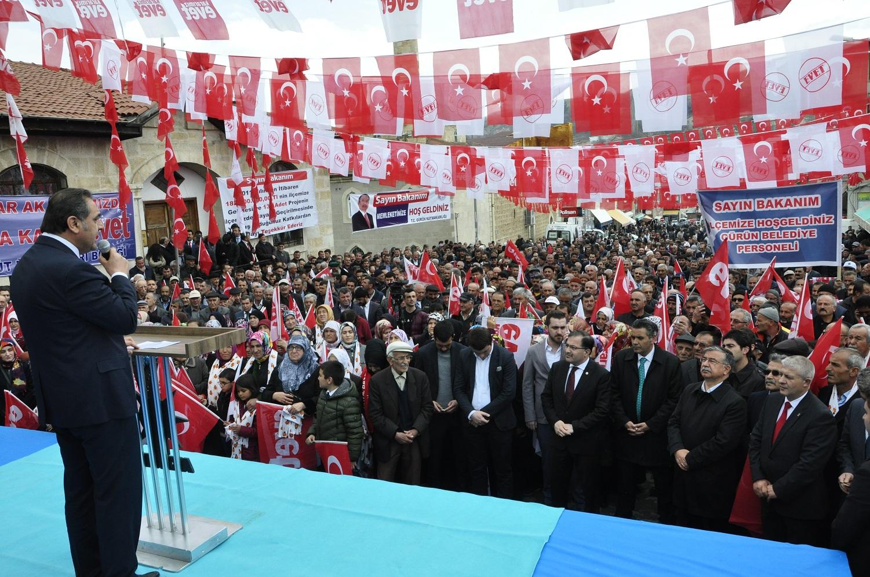 """BAKAN YILMAZ:""""HEPİMİZİN ORTAK PAYDASI TÜRKİYE'DİR"""""""
