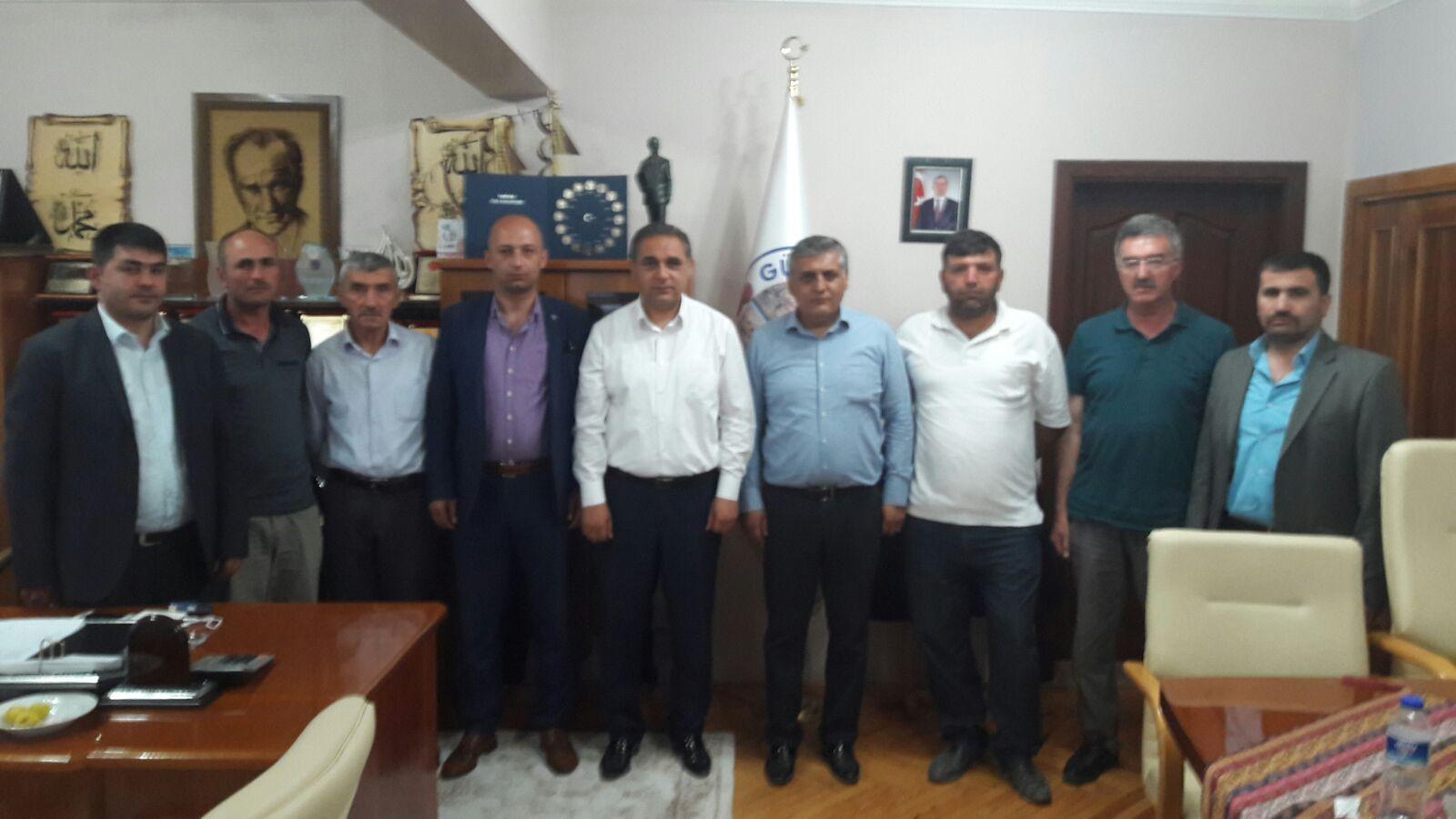 MHP SİVAS İL BAŞKANI NAVRUZ'DAN BAŞKAN ÇİFTÇİ'YE ZİYARET