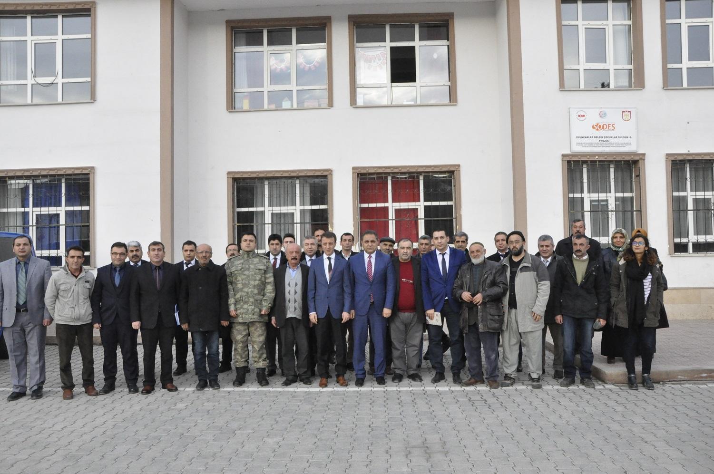BURÇEVİ MAHALLESİ'NDE HALKLA BULUŞMA TOPLANTISI YAPILDI