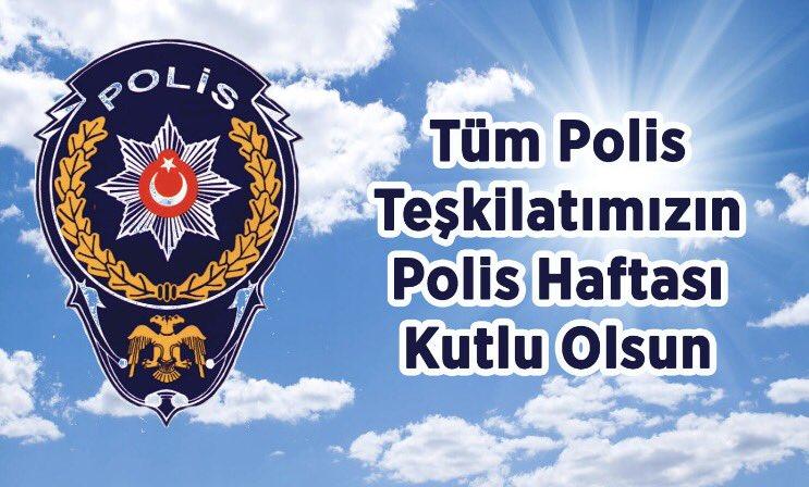 """BAŞKAN ÇİFTÇİ:""""TÜRK POLİS TEŞKİLATIMIZIN 173. KURULUŞ YIL DÖNÜMÜNÜ KUTLUYORUM"""""""