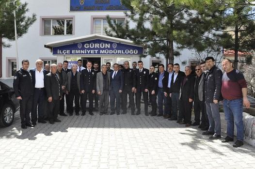 BAŞKAN ÇİFTÇİ'DEN POLİS HAFTASI ZİYARETİ