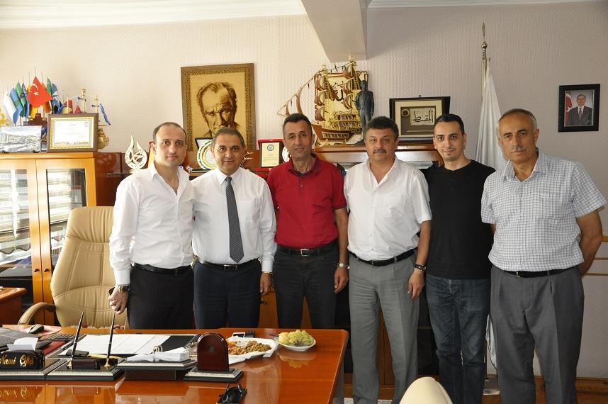 MHP SAMSUN İL BAŞKANI SÜSLÜ'DEN BAŞKAN ÇİFTÇİ'YE ZİYARET