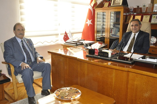 SİVAS ESNAF ODASI BAŞKANI KÖKSAL'DAN BAŞKAN ÇİFTÇİ'YE ZİYARET